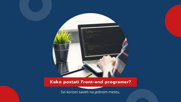 Kako postati frontend web programer?